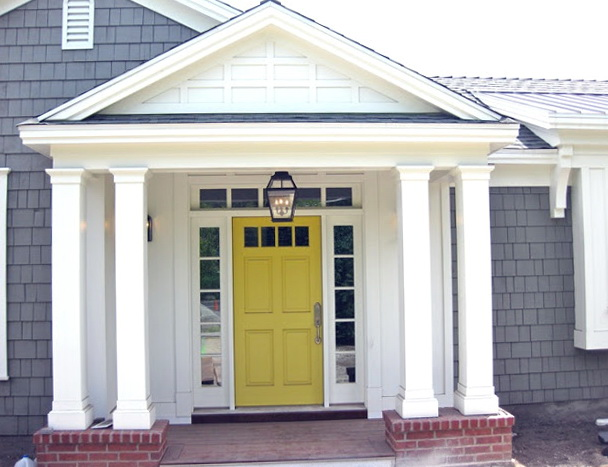 50+ White House Ideas for Front Doors, Shutters and Black Trims