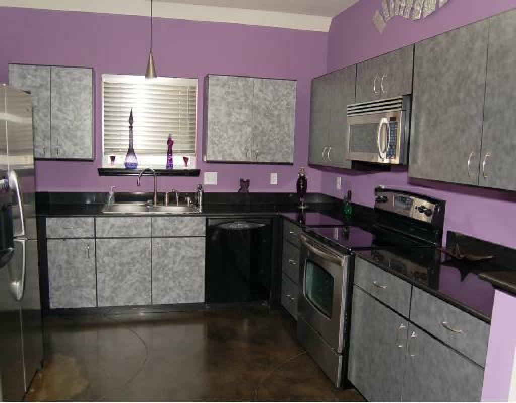 Purple Kitchen Decoration Ideas