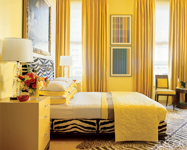 Bedroom Decorating Ideas Yellow