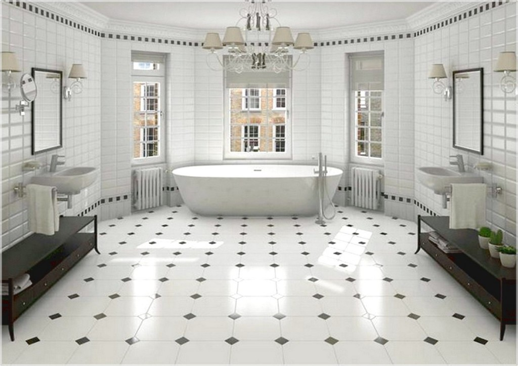 Black And White Tiles Design 1024x723