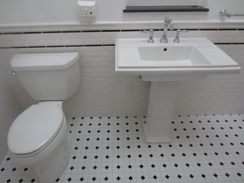 Black And White Tiles Home Depot 1024x768