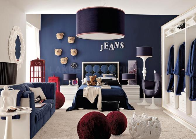 20 Blue Bedrooms – Decoration Ideas for Blue Theme Rooms [Colors Series]
