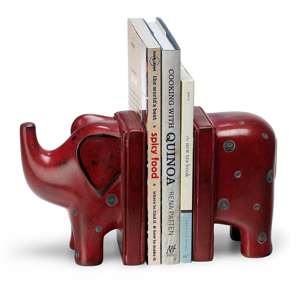 Bookends For Cookbooks In Kitchens