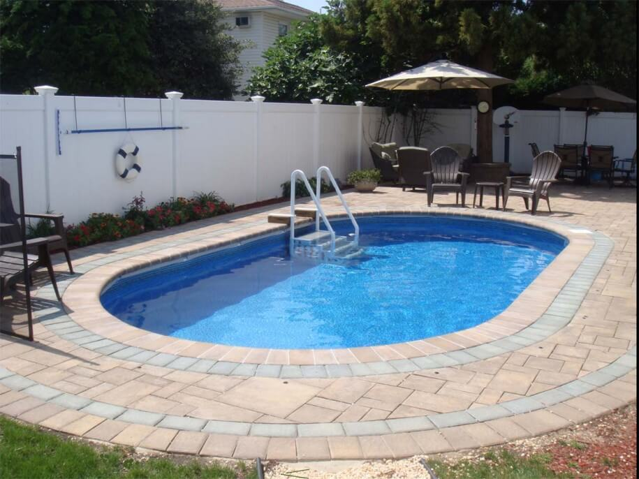 Cheapest Pool Design For Small Backyard