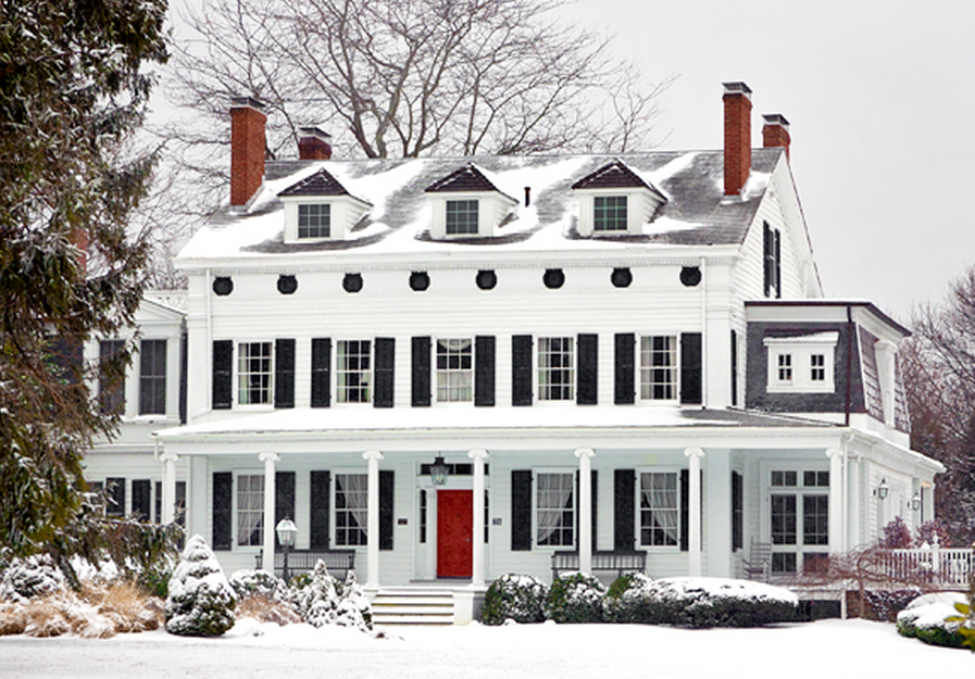 50 White House Ideas For Front Doors Shutters And Black Trims My