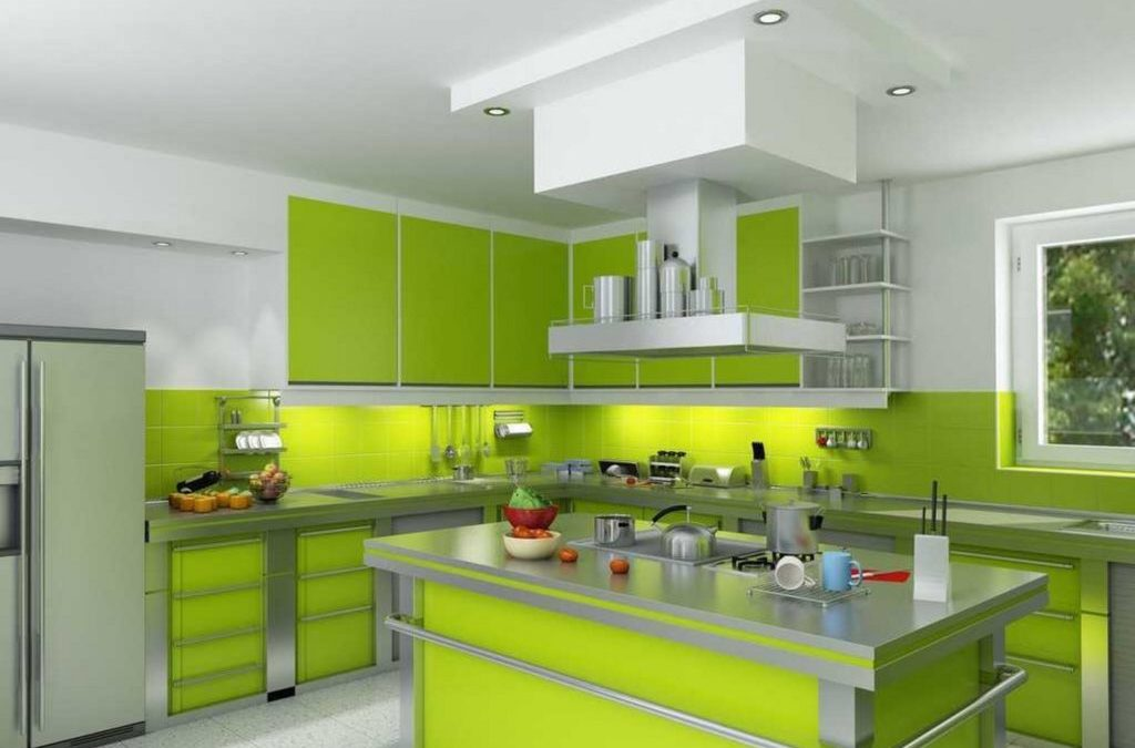 25 Green Theme Kitchen Decor Ideas with Pictures [Theming Series]