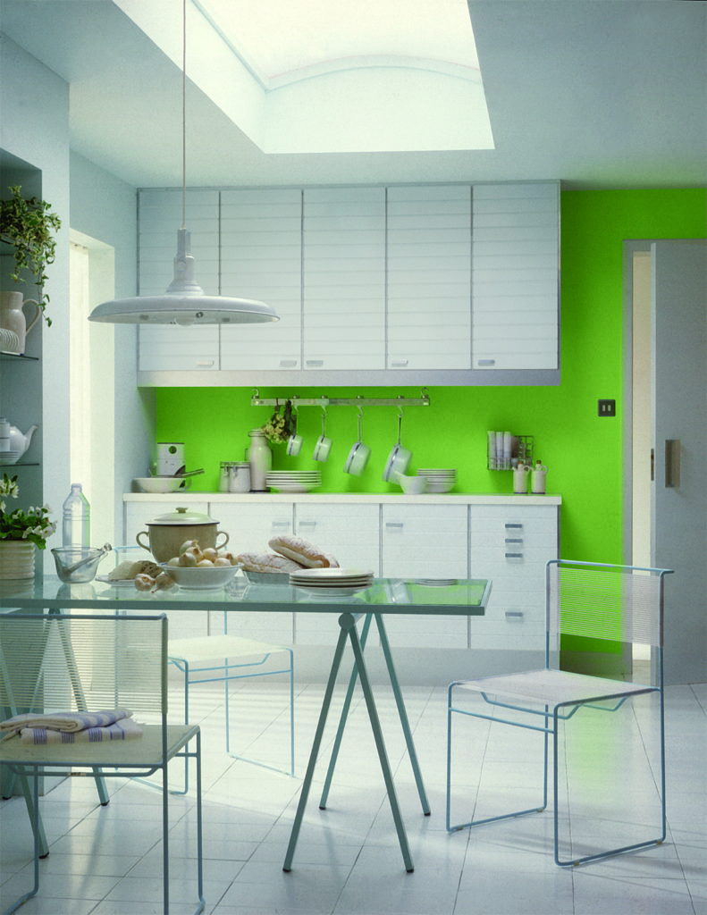 Green Kitchen Decorating Ideas 791x1024