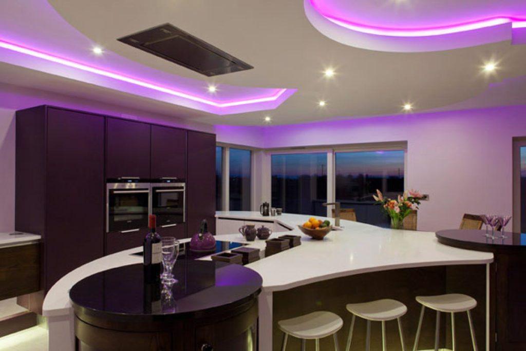 Purple Kitchen Cabinets 1024x684