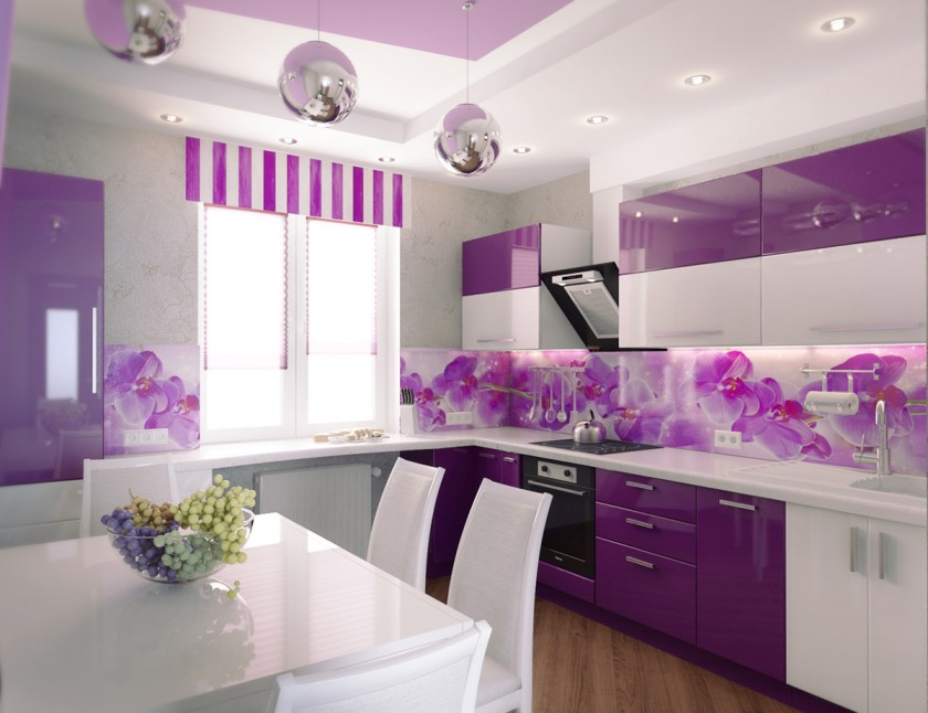 15 Eye Catching Purple Kitchen Decoration Ideas for 2018 [Continue Theme Part 2]