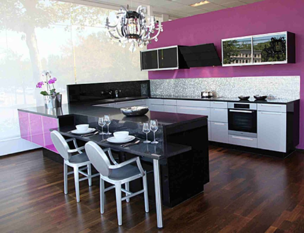 Purple Kitchens Images 1024x787