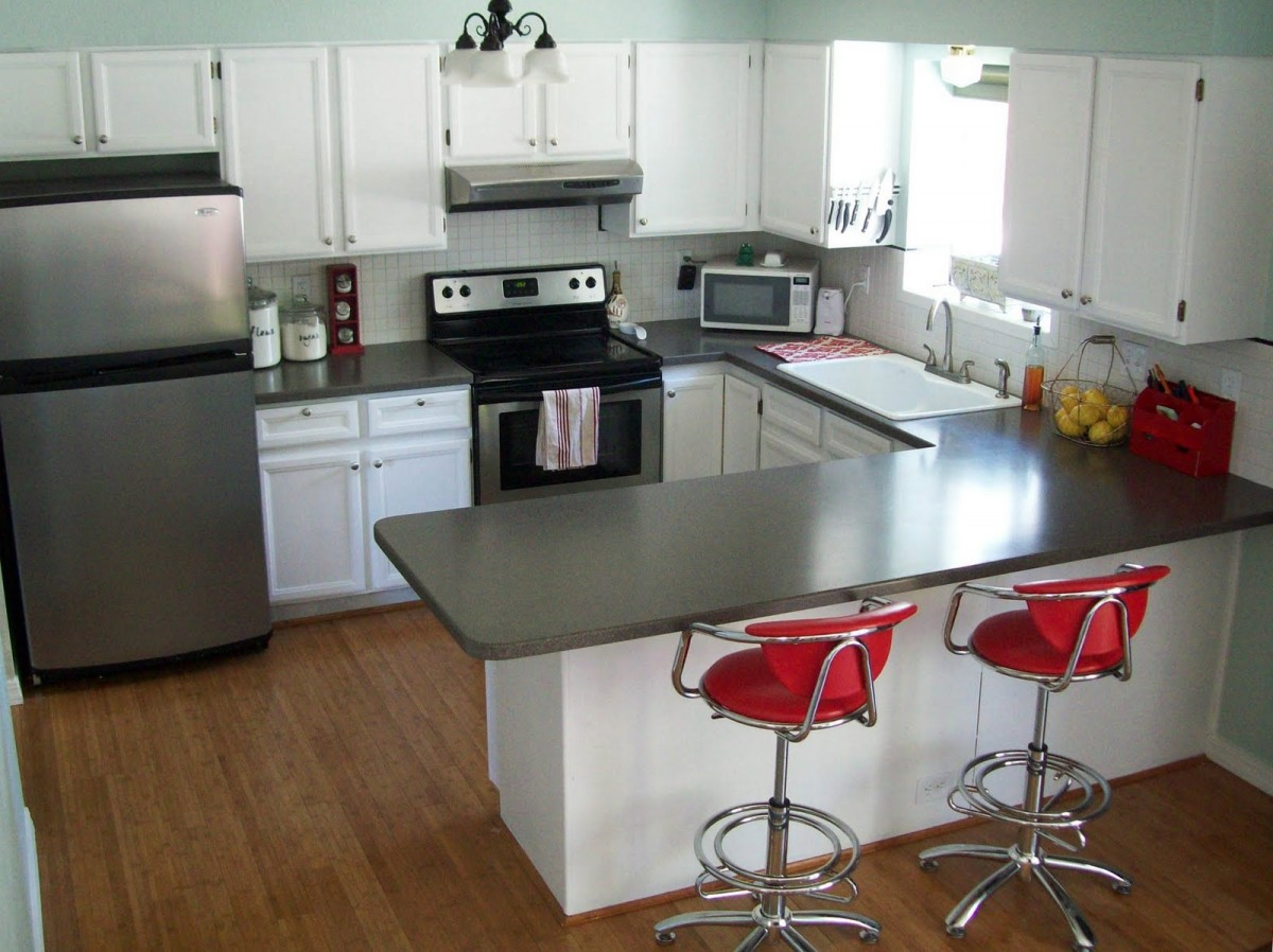 U Shaped Kitchen Design With Island2