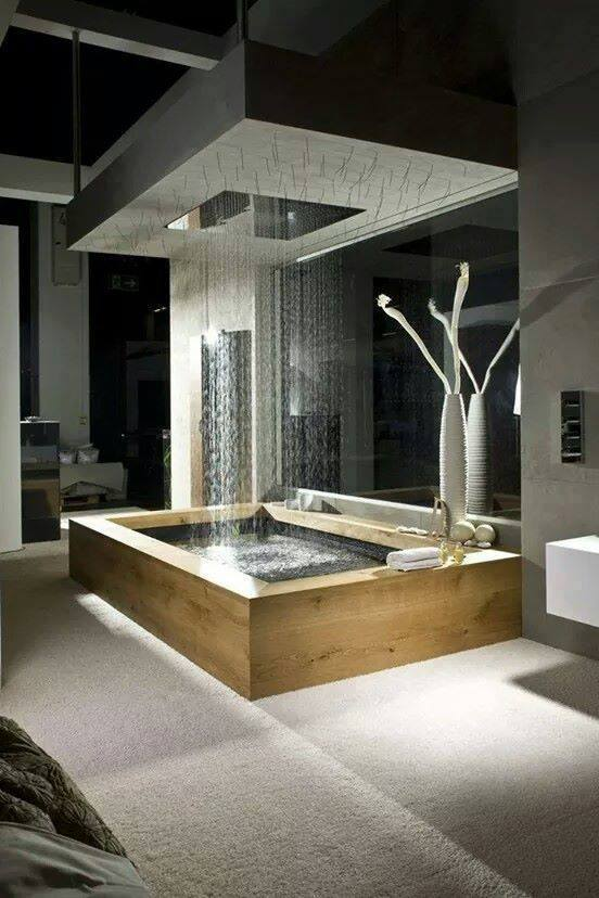 Waterfall Shower Faucet