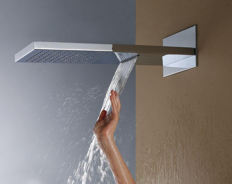 Waterfall Shower Head Home Depot
