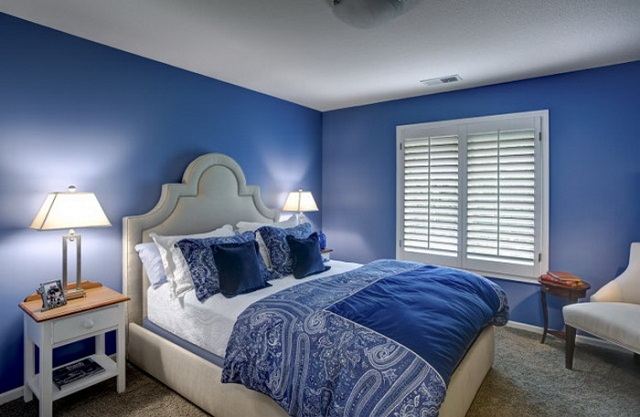 What Color Curtains With Blue Walls