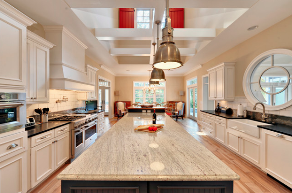 15 Best Pictures of White Kitchens with Granite Countertops (New Combinations)