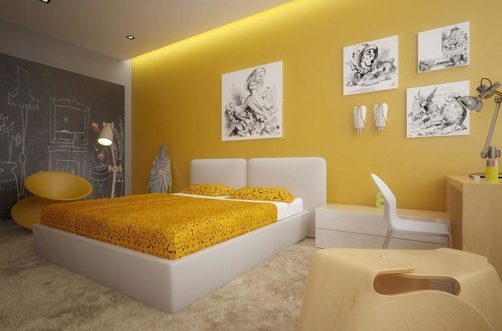 Best Yellow Bedrooms – Decoration Ideas for Yellow Theme Rooms [Colors Series]