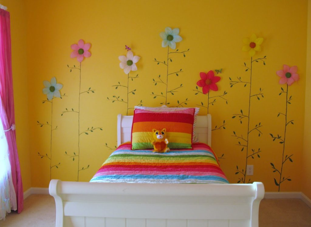 Yellow Room Decor Ideas 1024x749